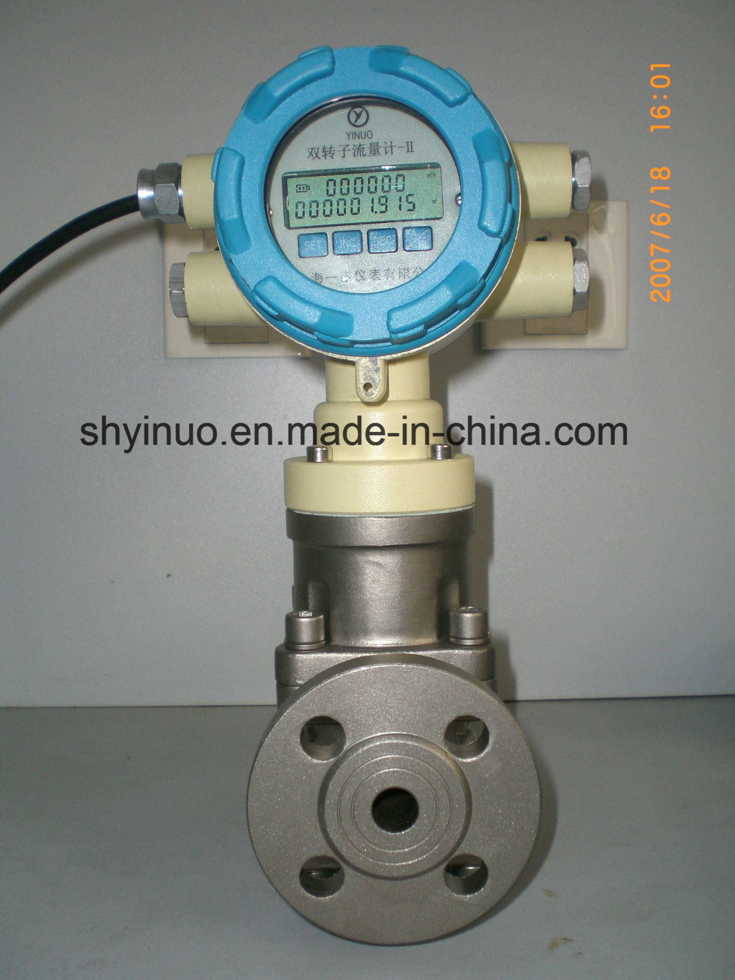 Customized Positive Displacement Flow Meter with Electronic Counter