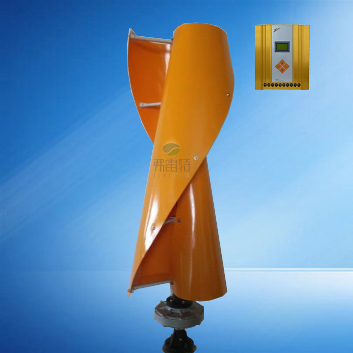 Vertical Wind Turbine with Controller and 1000W Inverter