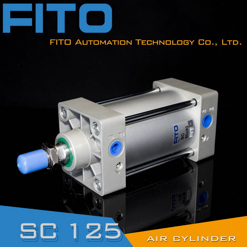 Sc125 Series Standard Air Pneumatic Cylinder ISO6430 Airtac