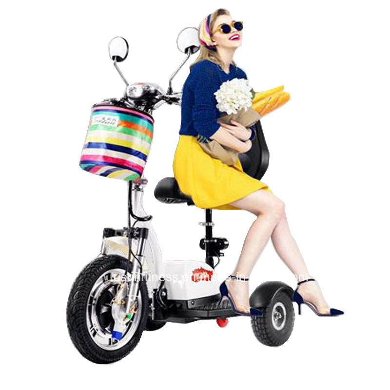 16inch 3 Wheels off Road Electric Mobility Scooter with 500W Power