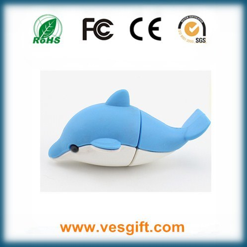 Customized 8GB PVC USB Flash Driver Gadget