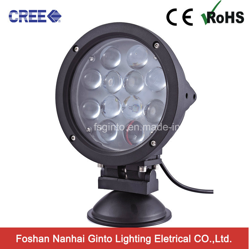 60W 4D CREE Round LED Work Light (GT6601-60W)