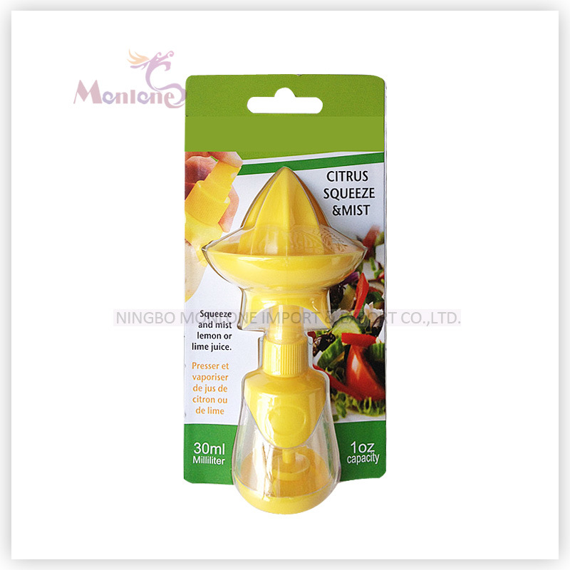 Hot-Selling 2-in-1 Lemon/Orange/Lime Squeezer and Mist 7.8*8.2*16.5cm