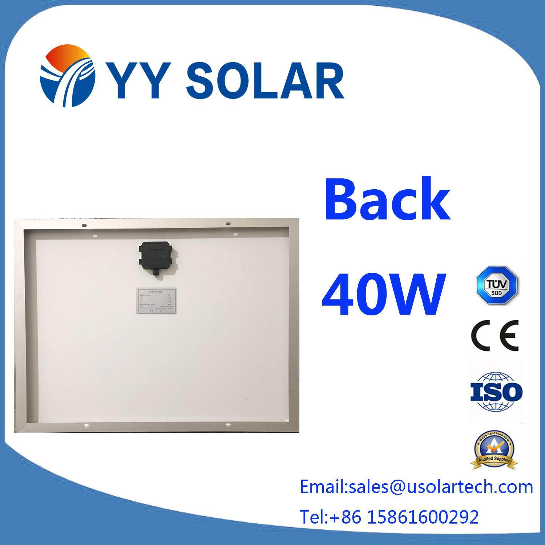 Most Popular 30W/40W/50W Solar Module with Ce/TUV
