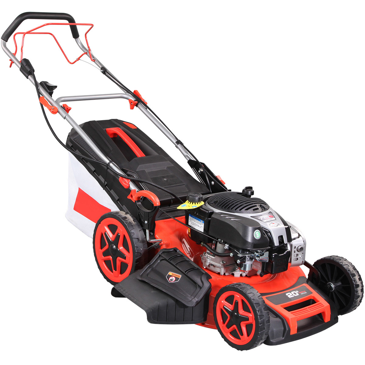 """Newest 20"""" 4 in 1 Professional Electric Start Self-Propelled Lawn Mower"""
