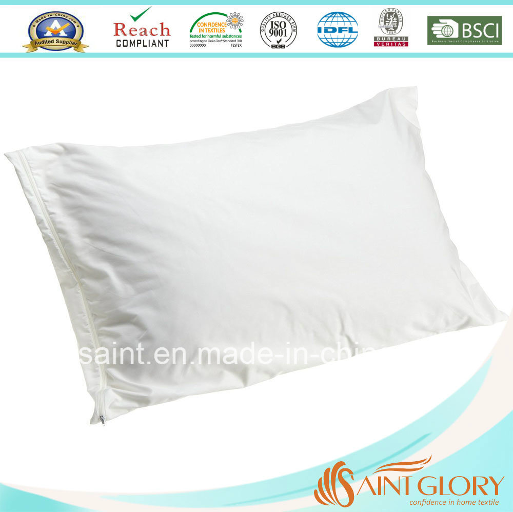 Home and Hotel Use Pillow Cover White Pillow Protector
