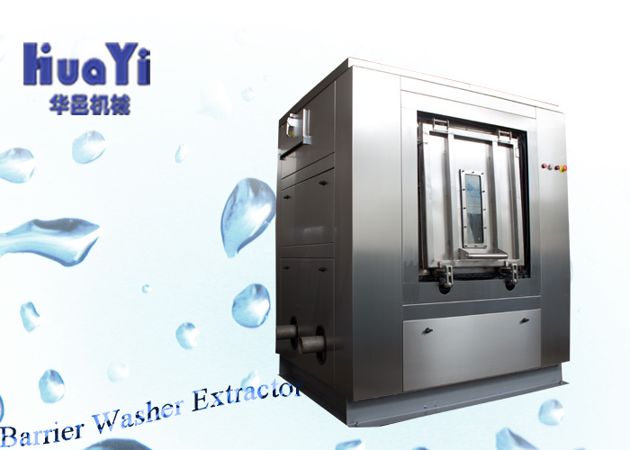 Stainless Steel Barrier Washer Extractor Machine Used for Hospital