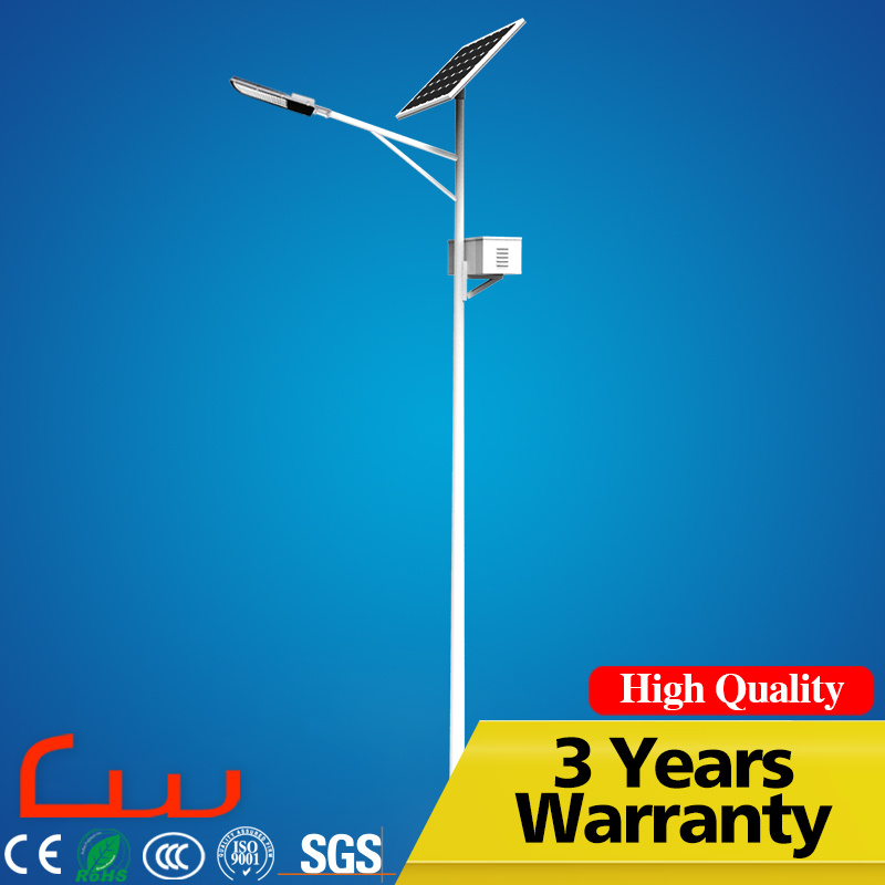 China Gold Supplier 30W 60W Solar LED Street Light With Pole
