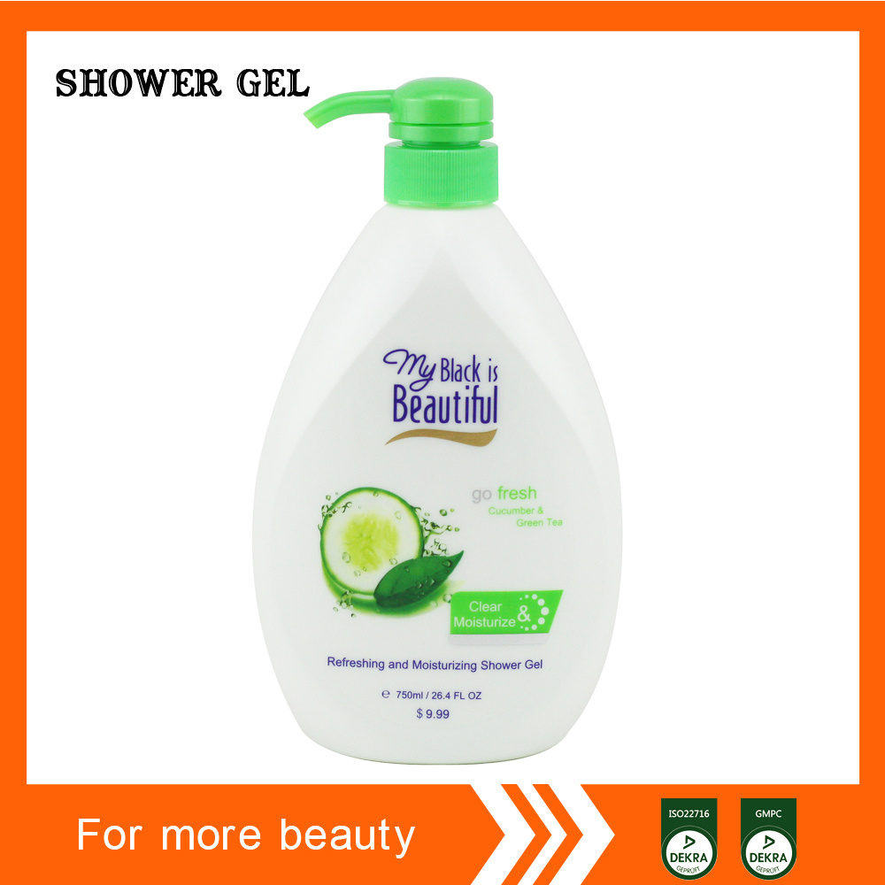 Exporting Shower Gel Middle East