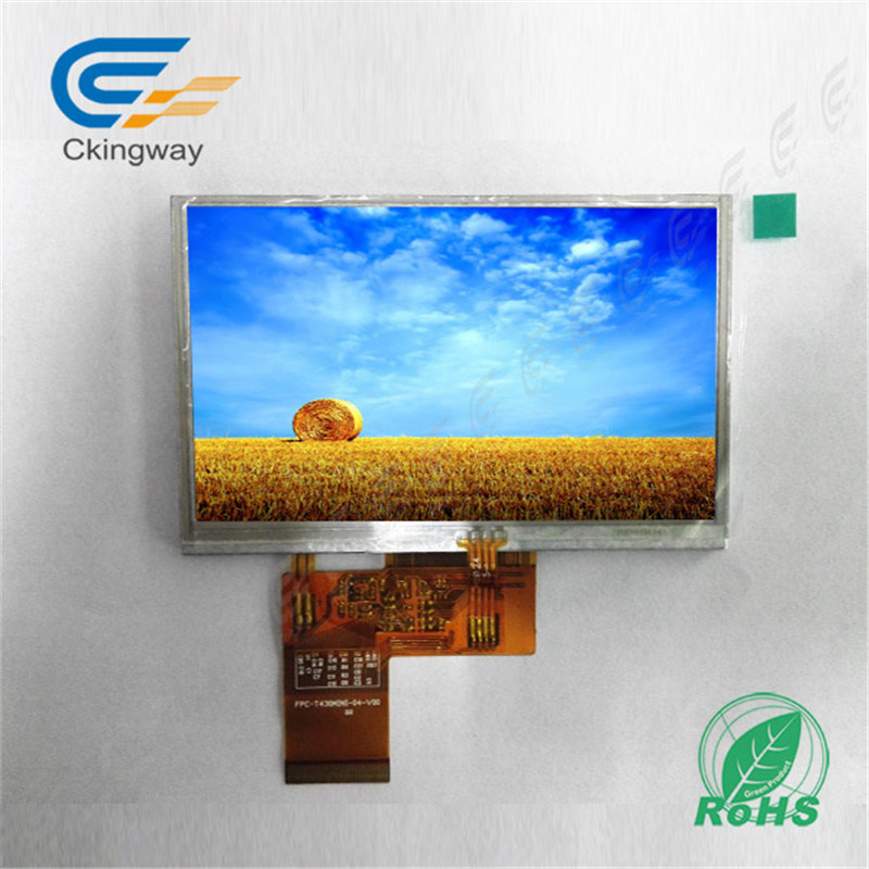 "4.3"" 24 Bits RGB Ili6480 LCD Screen Display"