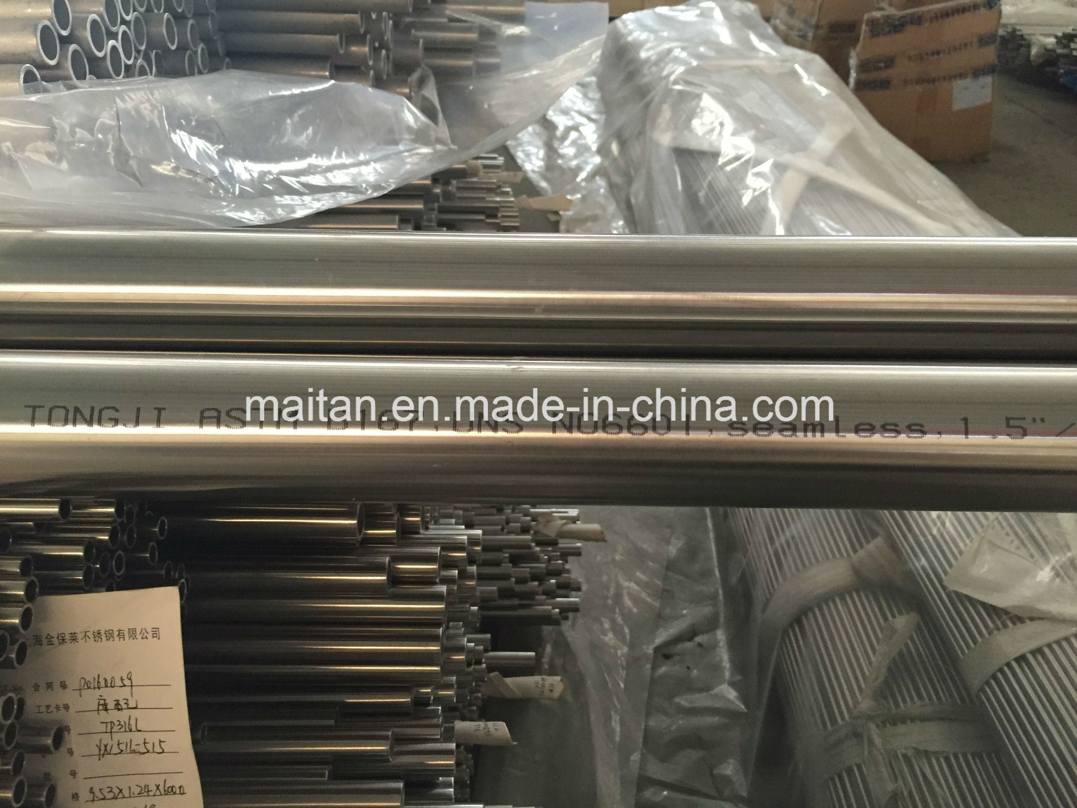 Hot Selling Nickel Alloy 600, 601, 625 Seamless Heat Exchanger Tube