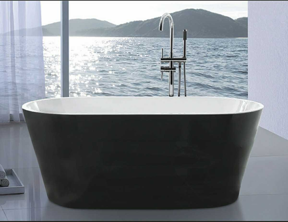 1700mm Ellipse Modern Bathtub (AT-LW116-1)
