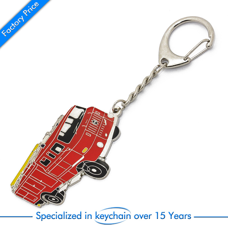 Car/Bus Shape Metal Key Ring/Chain for Gift