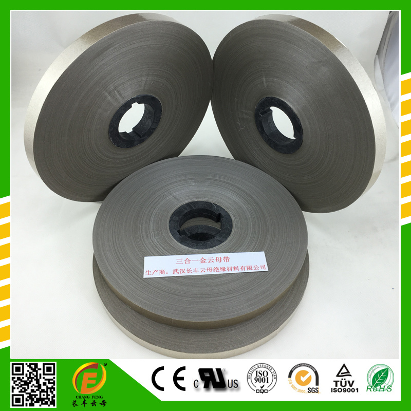 Single-Side Film Brown Mica Tape