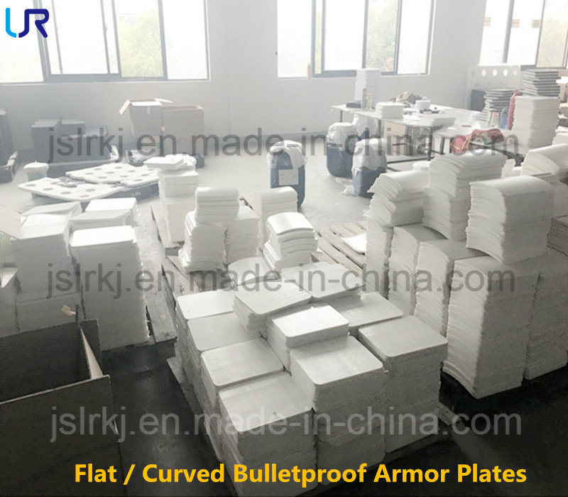 Factory Price Flat / Curved Ballistic Bulletproof Armor Plates
