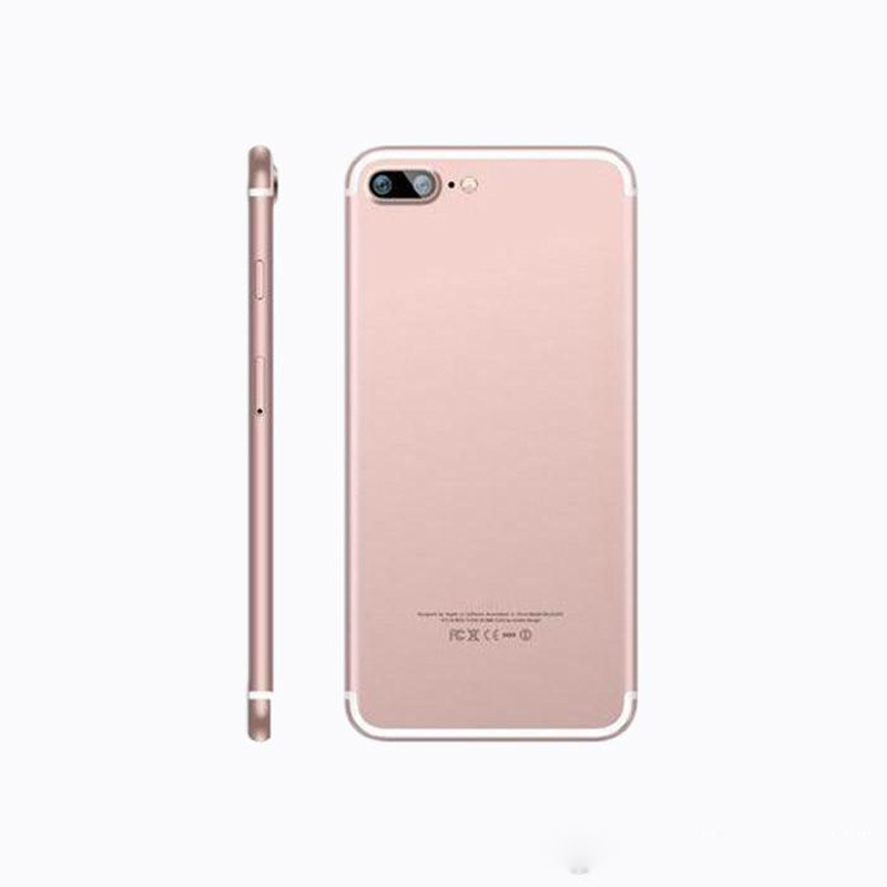 Goophone DHL Free Shipping I7 Plus 5.5 Inch Inch Large Screen Mobile Phone Mtk6580 Quad-Core 512MB+4GB 3G WCDMA HD Large Memory Smartphones
