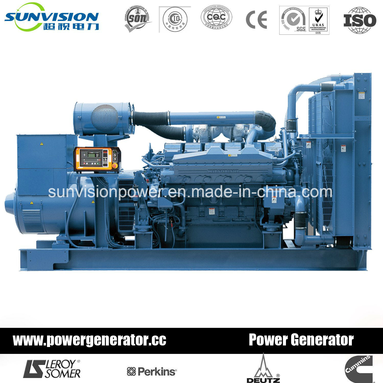 China 750kVA Mitsubishi Power Generator with Stamford Alternator