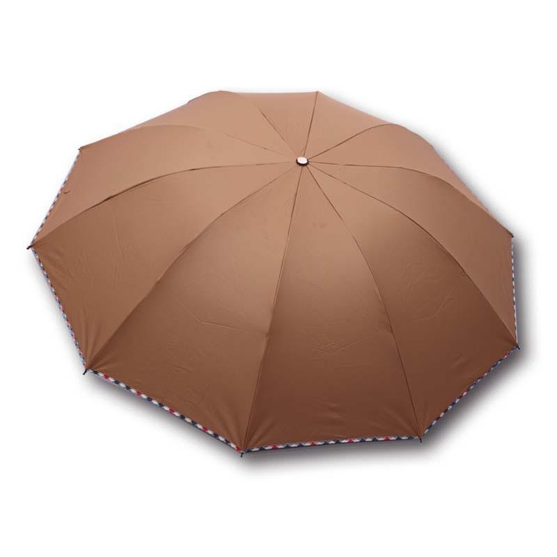 3 Folds 10 Ribs Cheap Promotion Umbrella Wholesale Custom Advertising Umbrella