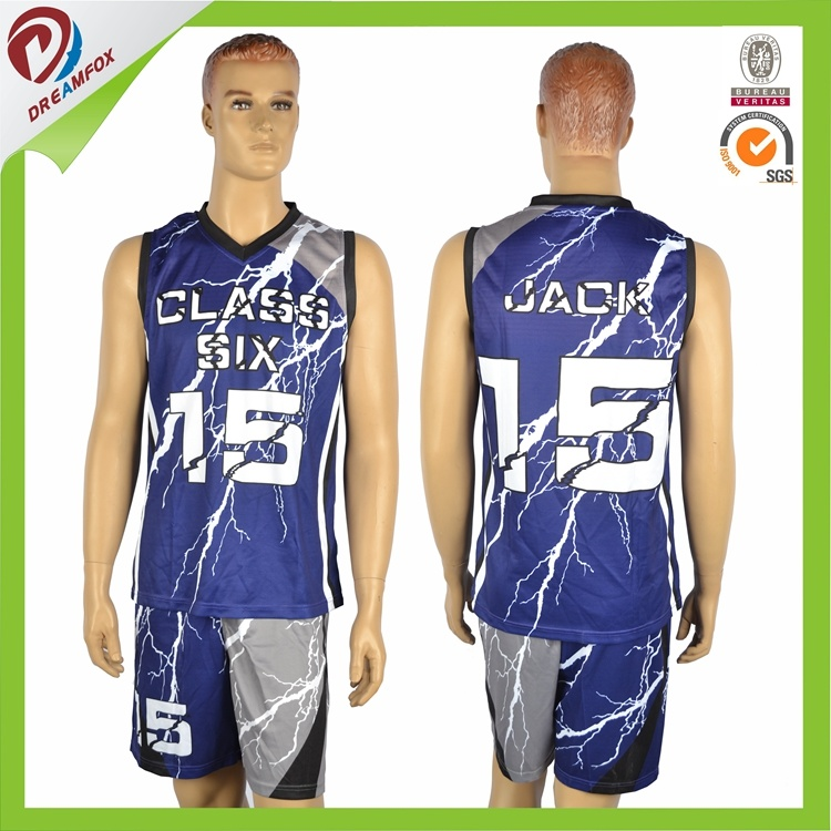 2017 Cheap Custom Sublimation Basketball Jersey Uniform Design