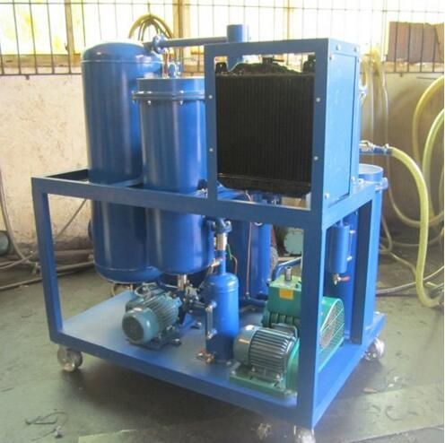 Vacuum Lubricating Oil Purification System for Oil Dehydration and Removing Particles