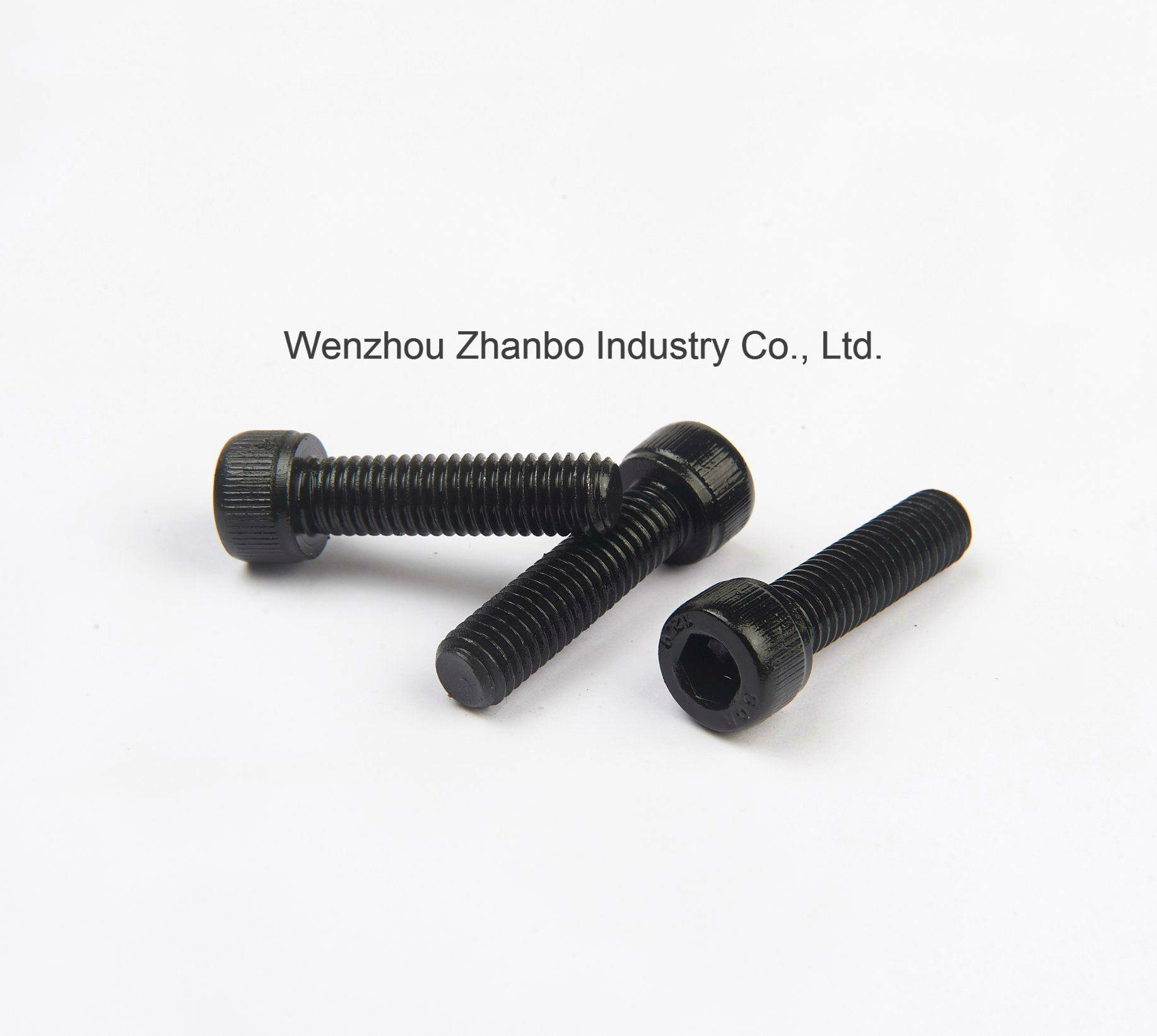 High Strength Steel, Hexagon Socket-Head Cap Screws 12.9 10.9 8.8, 4.8 M6-M20, DIN912