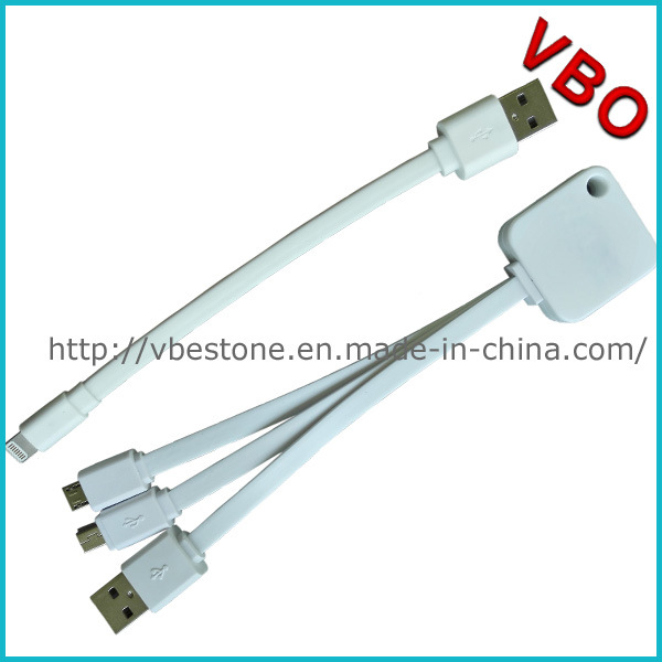 New Mfi Approval 3 in 1 USB Data Charging Cable for iPhone6/Samsung