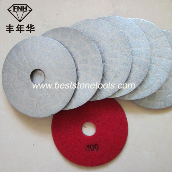 Bd-1 Diamond Brazed Polishing Pad