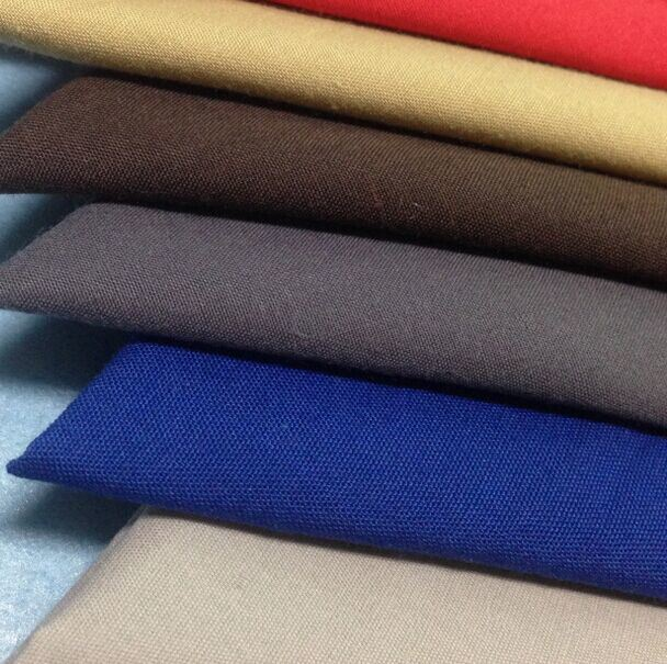 Shirt Fabric Made of 100% Cotton Poplin Fabric