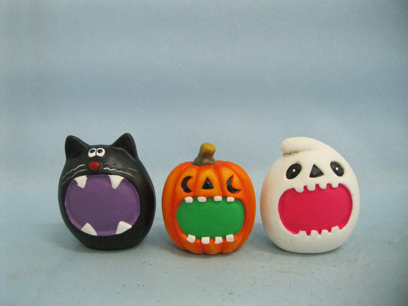 Halloween Pumpkin Ceramic Arts and Crafts (LOE2373-6)