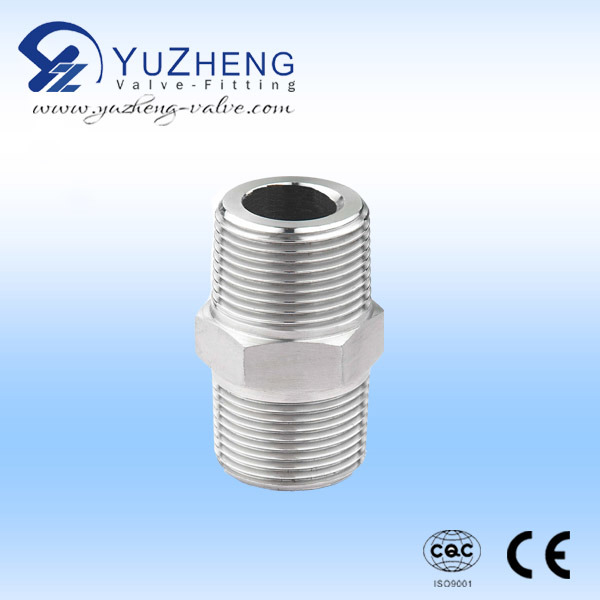 3000/6000 Psi Stainless Steel Hex Nipple