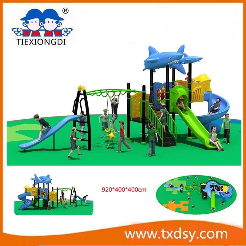 Customized Hot New Children Outdoor Exercise Playground Equipment