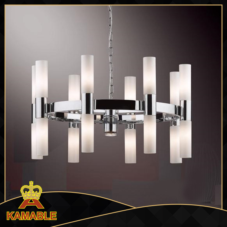 Luxury Fancy Design Contemporary Glass Pendant Lighting Fixtures (KA6412-16A)