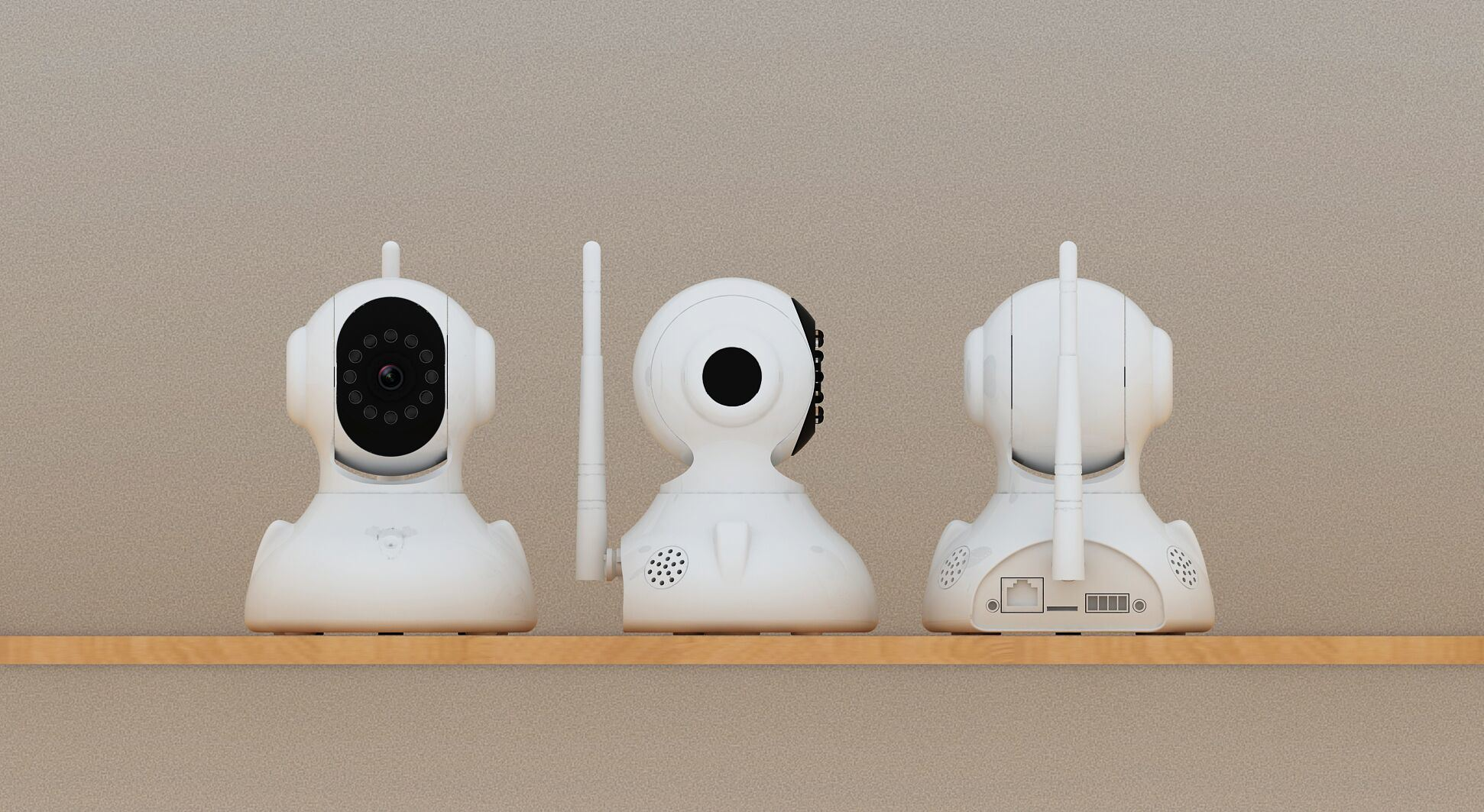 2016 New Product Wireless WiFi IP Camera for Home and Office Security