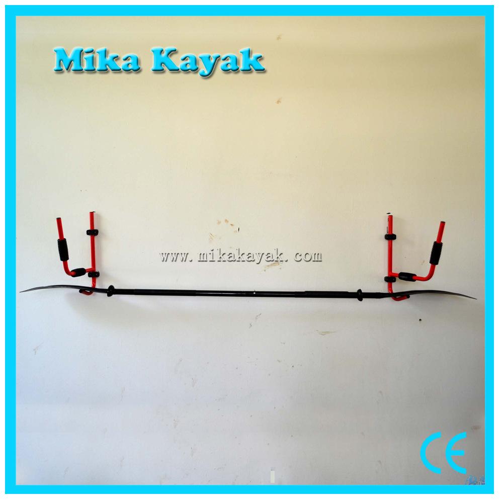 Kayak Rack Canoe Carrier Wall Hanger Bracket Paddle Holder Garage Surfboard Storage