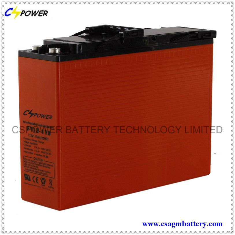Front Terminal Battery 12V100ah for Telecom and UPS