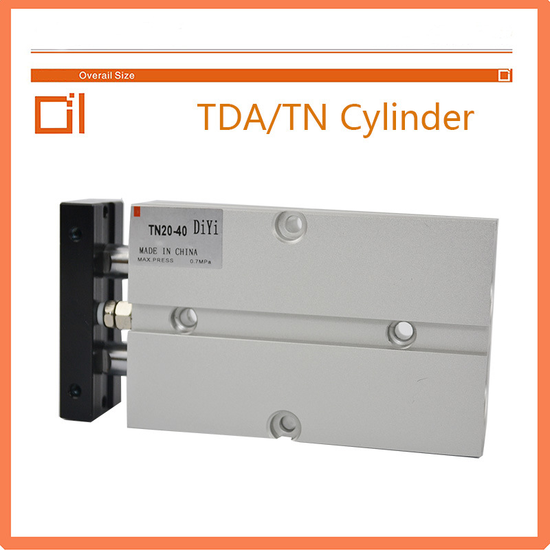 Tn/Tda Double Axle Pneumatic Cylinder