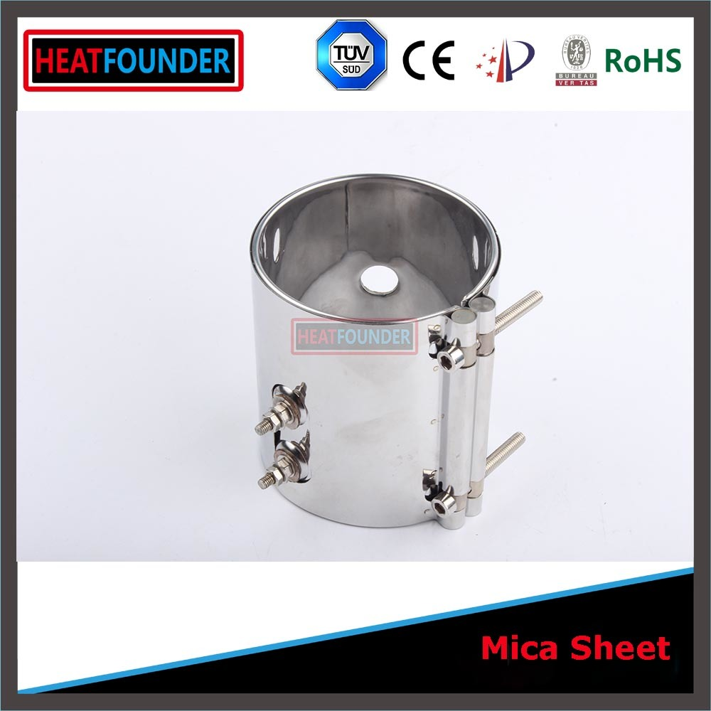 Stainless Steel Mica Band Heater