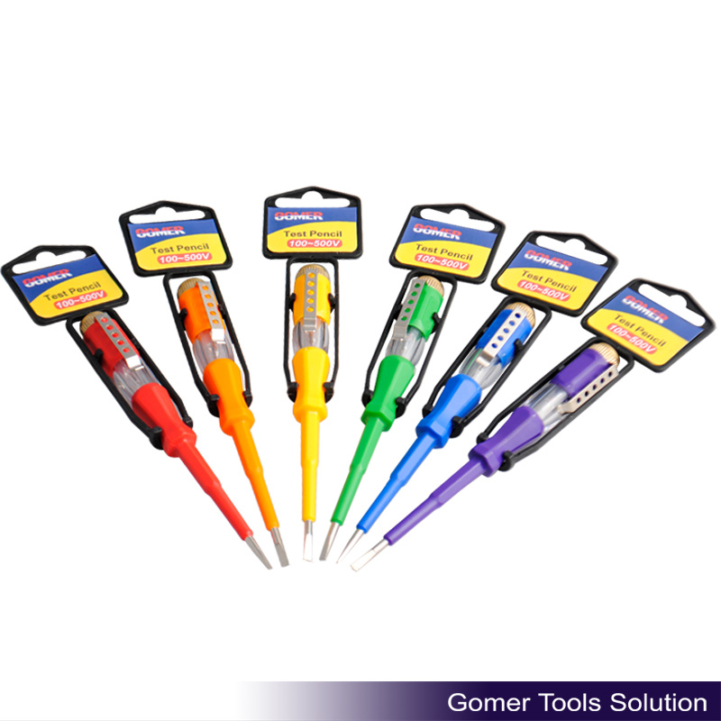 Safety Color Handle Electrical Test Pen (T07261-1)
