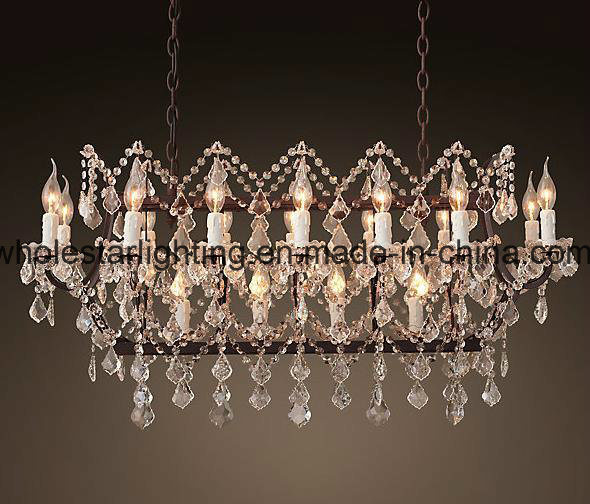 Rococo Style Crystal Chandelier Lamp (WHG-649)