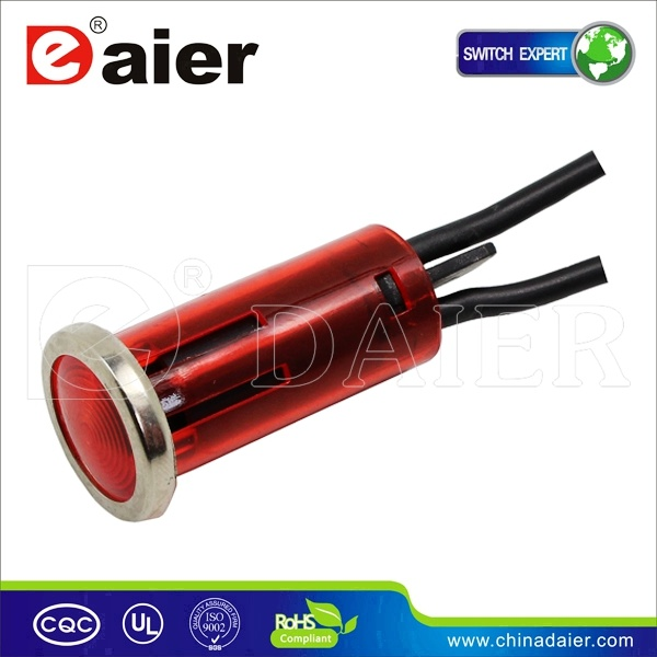 Wl-02s 12 Volt Wire LED Indicator Light (WL-02S)