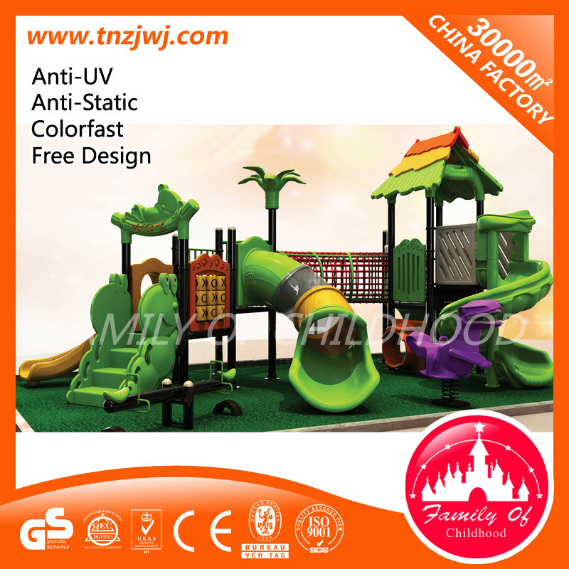 Amusement Equipment Kids Outdoor Play House Playground Slide for Sale