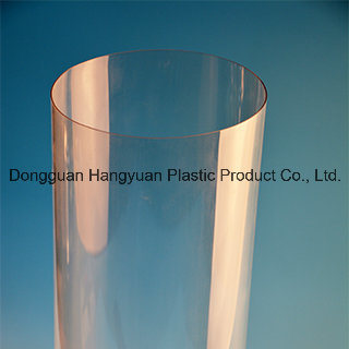 Transparent Plastic Extrusion Pipe for Packagin