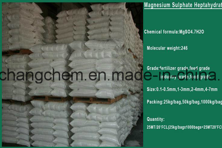China Magnesium Sulphate