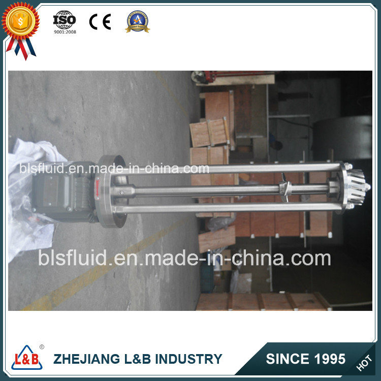 Bls Customized Stainless Steel High Shear Industrial Food Mixer