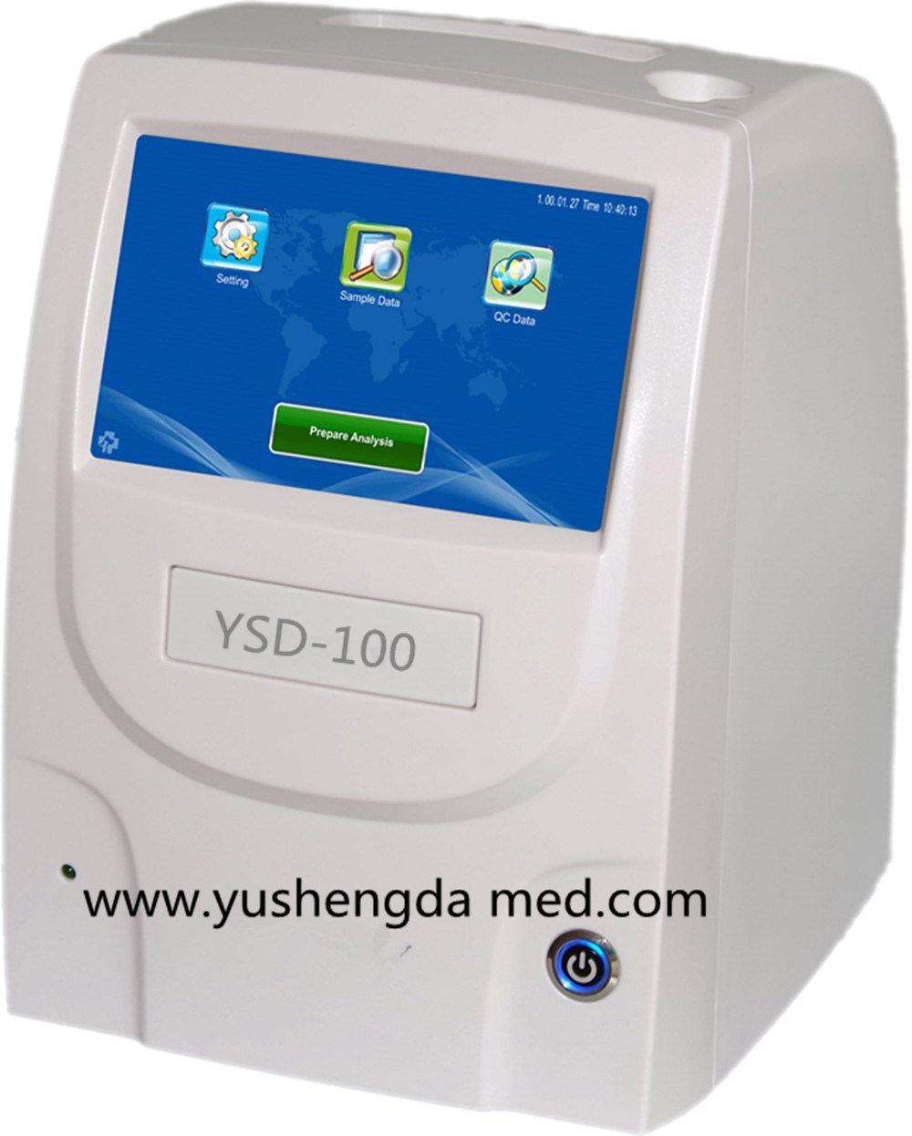Ysd100 Hot Sale Automatic Medical Equipment Biochemistry Analyzer