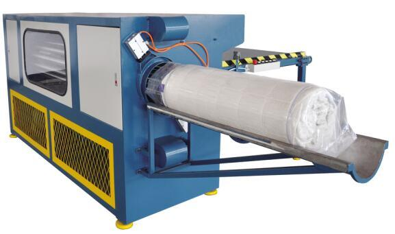 Auto Mattress Roll-Packing Machine for Packing Mattress
