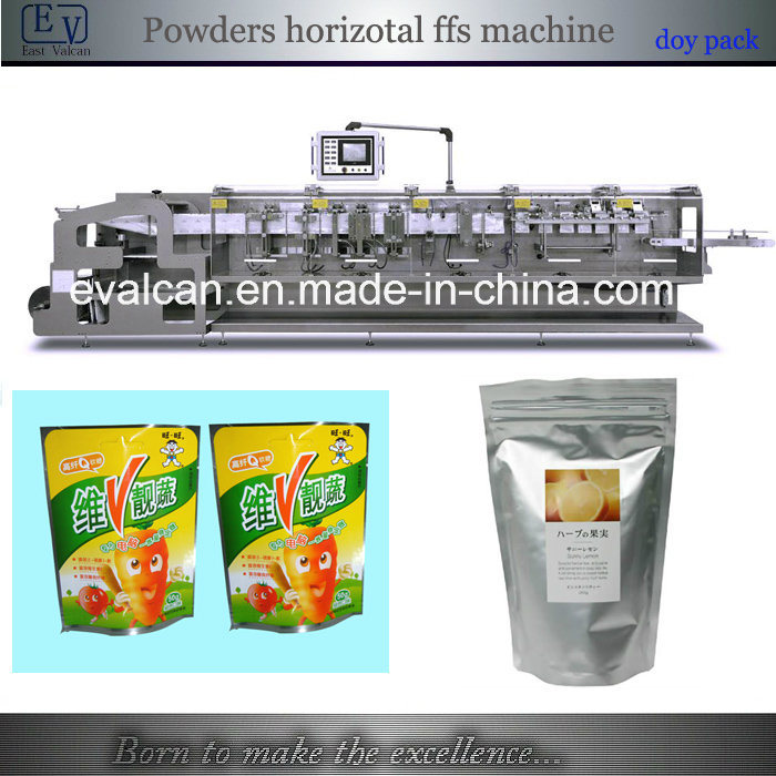 Automatic Powder Form Fill Seal Packing Machine with Stand-up Pouch