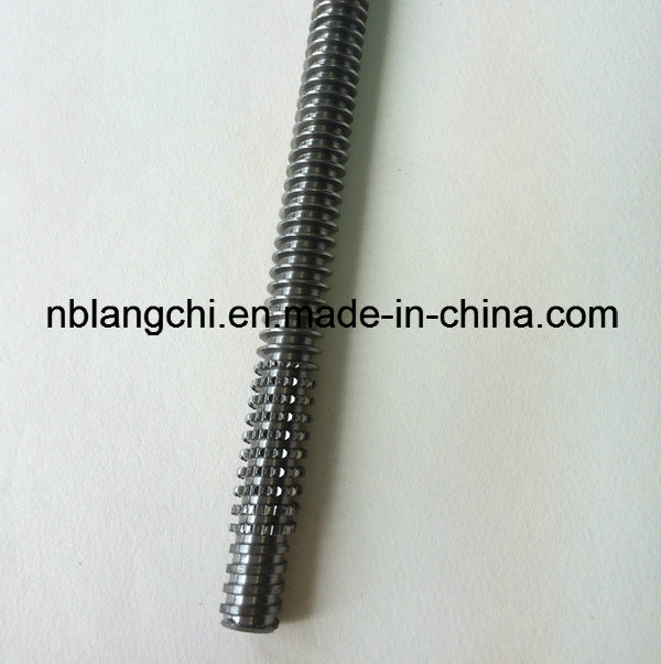 Thin Thread Tooth Trapezoidal Thread Rod Roller Lead Screw Tr12X3