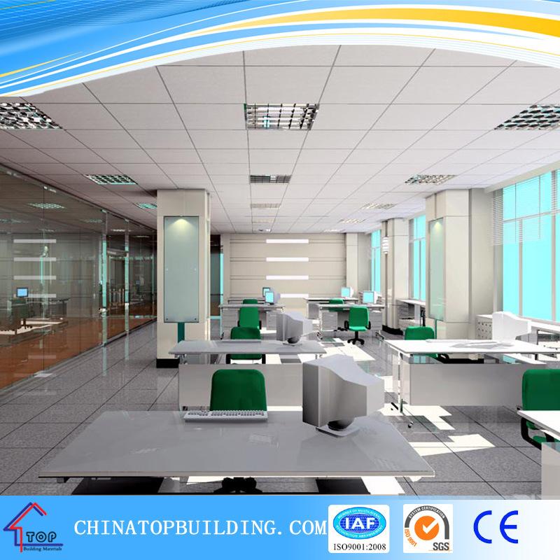 # 572. A Grade PVC Film Embossed Laminated Gypsum Ceiling Tile /PVC Gypsum Ceiling