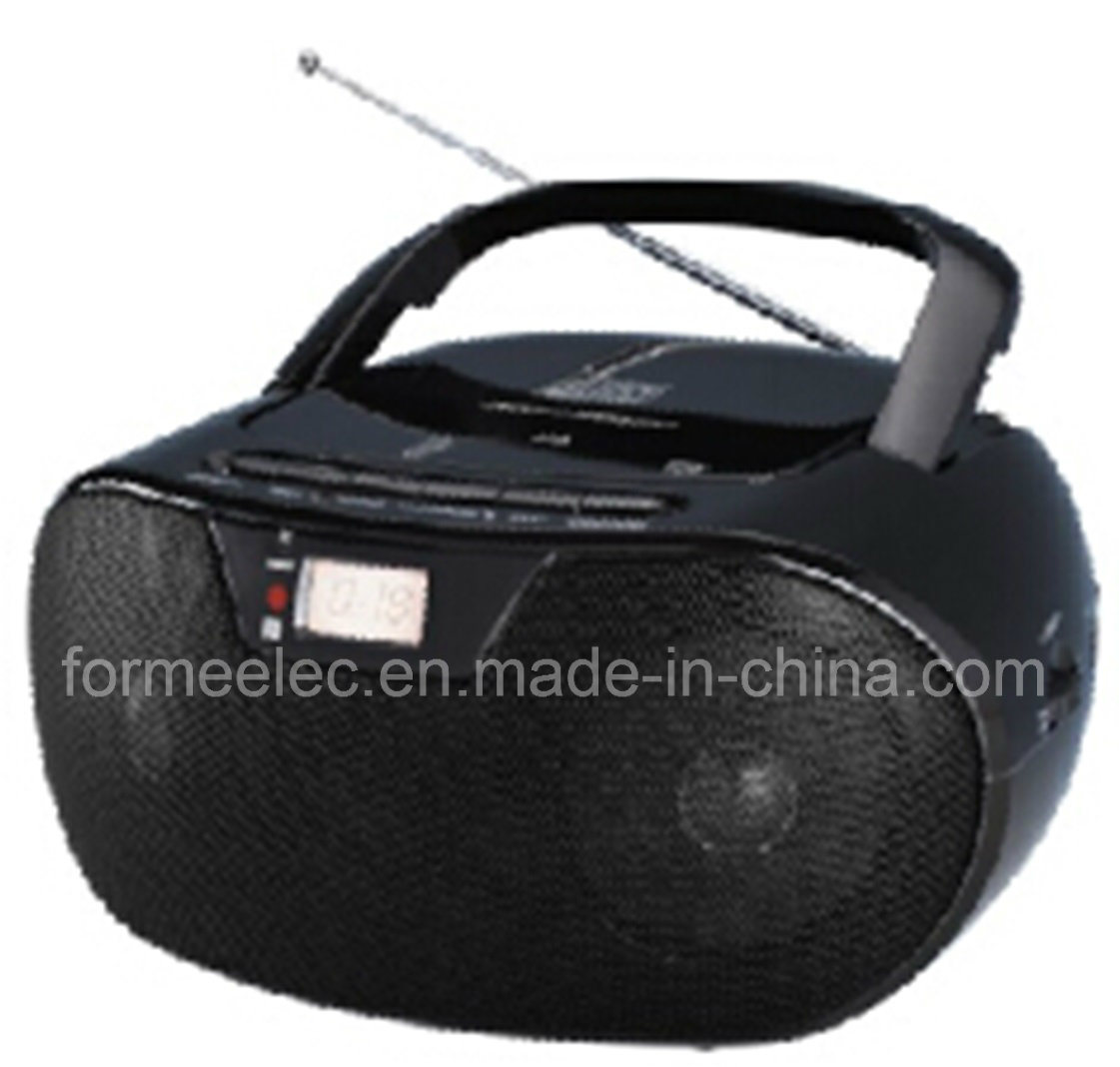 Portable MP3 CD Boombox with USB SD FM